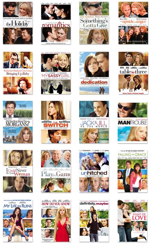 romantic-comedies-dvd-covers